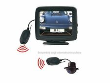 """Unterbau Rückfahrkamera 3.5"""" Monitor Funkübertrager passend für Renault"""