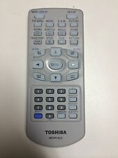 TOSHIBA LCD TV/DVD COMBO REMOTE CONTROL MEDR16UX for SD-KP19 P101S P1600 w/bat