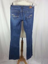 AEO AMERICAN EAGLE OUTFITTERS ARTIST JEANS WOMEN'S 2 DISTRESSED 30 x 33 EUC