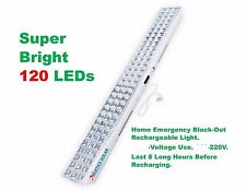 SUPER BRIGHT 120 LED Emergency Rechargeable Wall Mount Home Light. 220V.USE ONLY