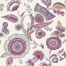 Arthouse Catarina Floral Leaf Wallpaper Modern Metallic Motif Jacobean 690802