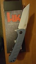 HK by Benchmade  Citation Tanto  Assisted-Open Knife  Blue-grey