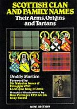 Scottish Clan and Family Names: Their Arms, Origins and Tartans-ExLibrary