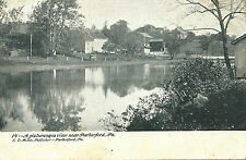 Vintage Parkerford,Pa.Postcard:  A Picturesque View near Parkerford #14 E.Miller