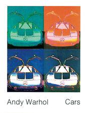 ANDY WARHOL - Mercedes Benz C111 (1970) Offset Lithograph Art Print Poster