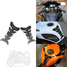 3D Rubber Tank Pad Protector Gas Motorcycle For Yamaha YZF R1 R6 R6S FZ1 FJR Bl