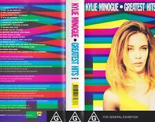 KYLIE MINOGUE GREATEST HITS  VHS PAL VIDEO~A RARE FIND