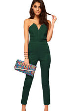 jumpsuit vintage with Pleated Bust Origami women overall rompers boycon bodysuit