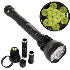 TrustFire 12T6 13000Lumen 12x XM-L T6 LED 18650/26650 Flashlight Torch Lamp