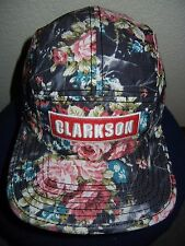 CLARKSON Colorful Flowers 5-PANEL HAT Baseball Cap Adjustable Skate Surf SUMMER