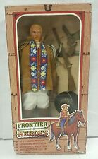 Frontier Heroes Action Figure BUFFALO BILL 1993 NEW 12' In Time Products RARE