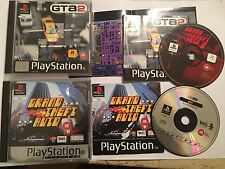 2x PS1 PLAYSTATION 1 PSone GAMES GTA GRAND THEFT AUTO 1 I + GTA 2 II #2 COMPLETE