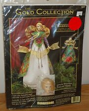 Dimensions GABRIELLE Christmas Angel Craft Kit Gold Collection