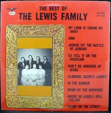 FACTORY SEALED Best Of Lewis Family Starday SLP-959 Bluegrass LP Record