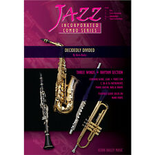 Jazz Incorporated Combo Series Decidedly Divided Sheet Music Chart Kerin Bailey