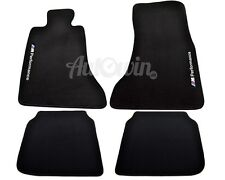 BMW 7 Series F02 Winter Floor Mats With Rubber Background /// M Performance LHD