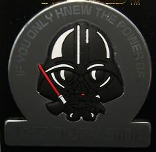 Disney Cuties Darth Vader If You Only Knew Power of the Dark Side Star Wars Pin