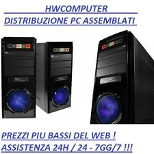 OFFERTA PC DESKTOP COMPUTER ASSEMBLATO INTEL DUAL CORE G1840 / 500GB / 4GB DDR3