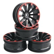 RC 1:10 Model On-Road Car Tires Plastic Wheel Rim offset 6mm For HSP HPI 601 A