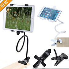 360 Gooseneck Table Desk Bed Wall Mount Stand Holder For iPad iPhone Android