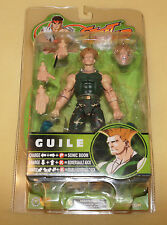 SOTA Toys Street Fighter Round 3 Guile 6 Inch Green Camo V Capcom vs Marvel