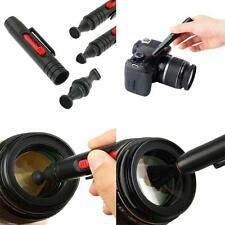 3 In 1 Camera Accessories Binocular Brush Lens Cleaning Pen DSLR Dust Cleaner