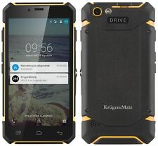 "Kruger&Matz DRIVE 4 IP67 5"" DISPLAY 1024RAM 8GB ROM IPS DUAL SIM + 16GB MICRO SD"