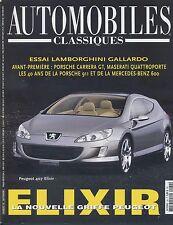 AUTOMOBILES CLASSIQUES n°132 09/2003 LAMBORGHINI GALLARDO MASERATI QUATTROPORTE