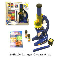 Kids Childrens Toy Junior Microscope Set Educational Science Nature Kids Toy