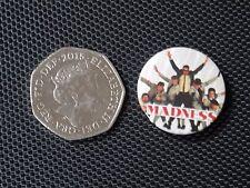 Vintage Pin Badge - MADNESS / SKA / 2 tone / Pins