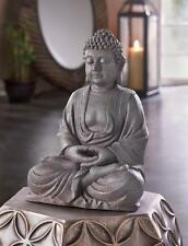 "large 12"" outdoor Thai BUDDHA Zen Meditation garden peace sitting statue Hindu"