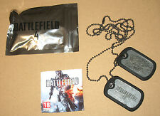 Battlefield 4 promo Dog Tags incl Xbox 360 PS3 PC DLC New
