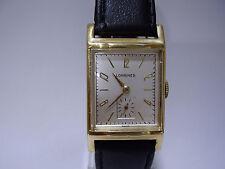 1940 VINTAGE LONGINES 9L 10K GOLD FILLED ART DECO