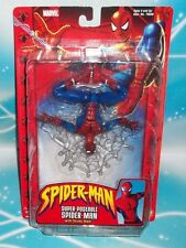 Marvel Legends 2002 SUPER POSEABLE SPIDER-MAN W/ STICKY WEB McFARLANE TOY-BIZ