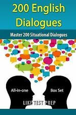 200 Korean Dialogues Box Set : All-In-one Box Set by Like Test Prep (2014,...