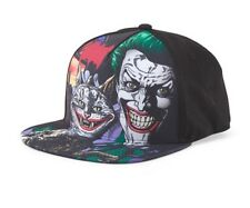 DC Comics Batman Jokers Cat Snapback Black Hat Graphic Adjustable Baseball Cap