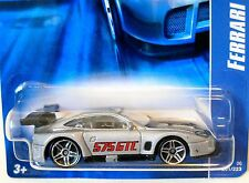 2006 Hot Wheels #201 ∞ FERRARI 575 GTC ∞ SILVER W/PR5 WHEELS