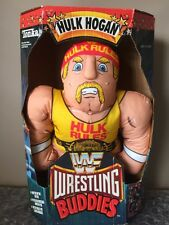Vintage 1990 WWF Tonka Wrestling Buddy Buddies HULK HOGAN In Box Titan Sports