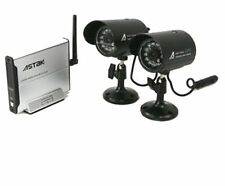 Astak CM-818C2 Wireless Security Surveillance Camera Kit Indoor/Outdoor Set of 2