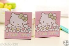 Hello Kitty Pink Flower Post-it Sticky notes x 2 packs KK510