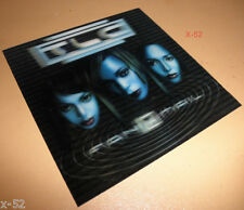 TLC FANMAIL cd + 3D LENTICULAR cover card #1 hits UNPRETTY no SCRUBS dear lie