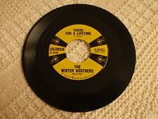 THE WINTER BROTHERS(DON & FLOYD WINTERS) YOURS FOR LIFETIME/FOOLISH ME COLUMBIA