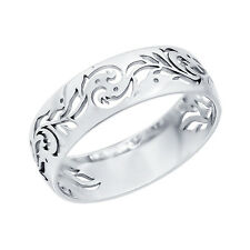 NEW SOKOLOV 925 SILVER CARVING RING SIZE 6.5