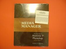 Media Manager Fundamentals of Anatomy and Physiology 7th by Martini CD-ROM