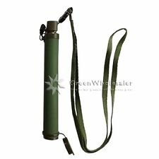 Army Green 99.9999% Life Emergency Water Filter Straw Safe River Stream Camping