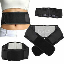 Infrared Magnetic Lower Pain Back Support Lumbar Brace Belt Double Pull Strap GH