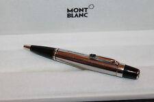 Montblanc Boheme Solitaire Steel Noir Line Kugelschreiber mit Stein, Mont Blanc