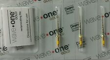 Waveone Gold Wave One Files 25mm Small Endodontic Root Canal Dentsply Tulsa