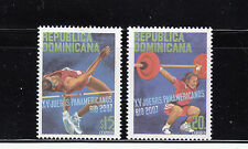 Dominican Republic 2007 PanAm Games Sc 1432-1433  mint never hinged