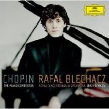"""RAFAL BLECHACZ """"CHOPIN THE PIANO CONCERTOS"""" CD NEU"""